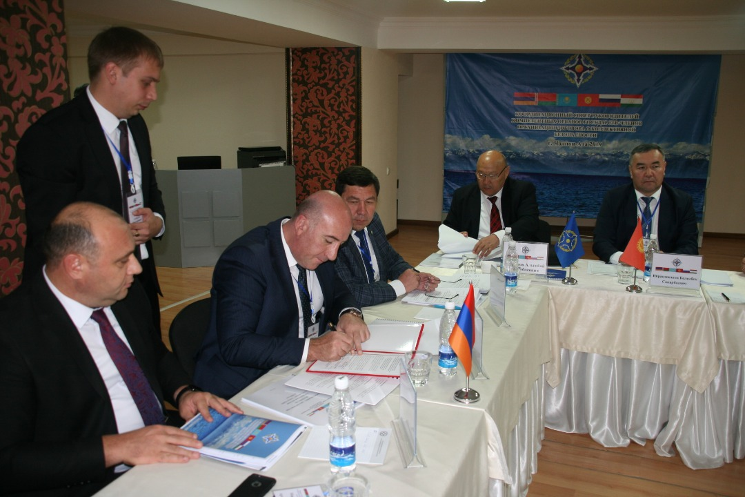 The 22nd meeting of the Coordination Council of the Heads of the Competent Authorities of the Member States of the Collective Security Treaty Organization to combat illegal migration was held in Bishkek